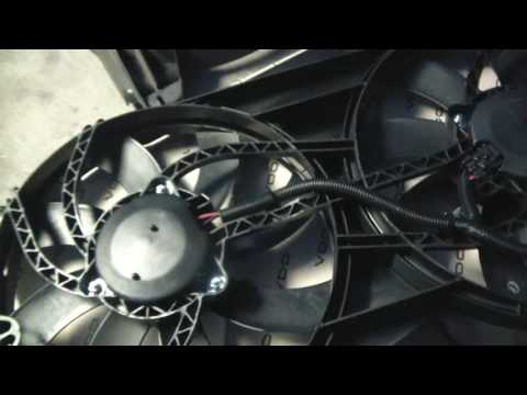 Lincoln MKX Ford Edge Cooling Fan Repair Replacement Install
