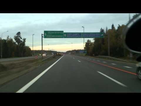 Утренняя поездка по Москве. Симферопольское шоссе