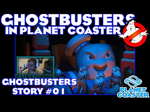 Ghostbuster Story - Chapter 1 | Planet Coaster |