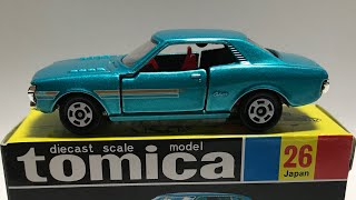 A 1974 Toyota Celica GT?!? (The Tomica Table)
