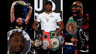 LENNOX LEWIS THE LAST 'EVER' UNDISPUTED CHAMPION?? - HE FEARS HE COULD BE!!
