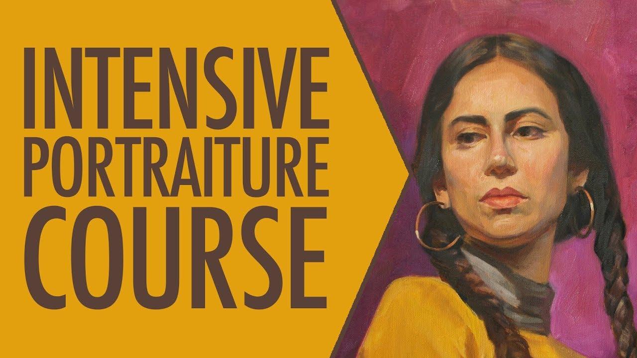 Intensive portraiture course (Includes artistic anatomy )