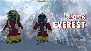 CZY ZDOBĘDZIEMY MOUNT EVEREST? ROBLOX - ( Mount Everest Roleplay)