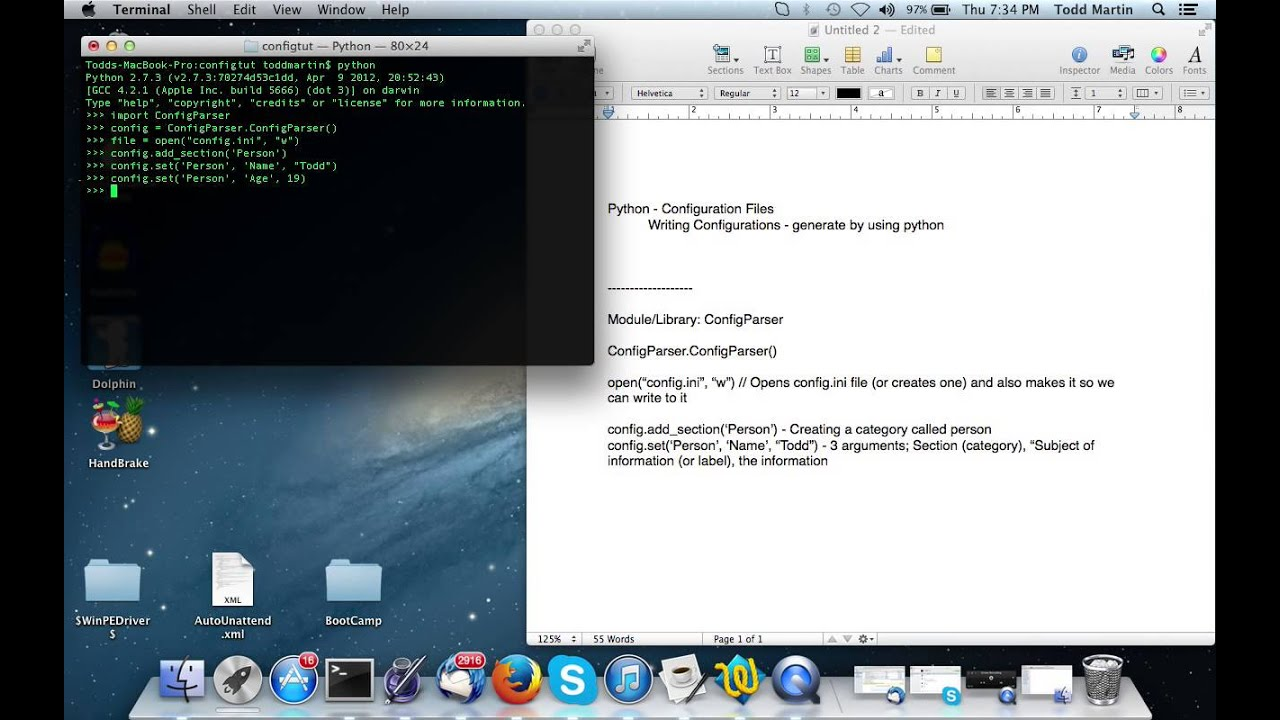 how to write to file python