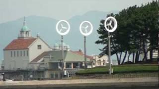 小型風力発電機「風レンズ風車」紹介VTR(解説付)