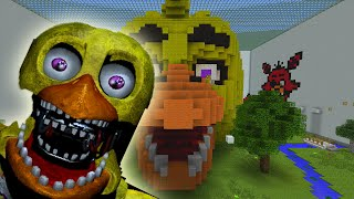 Minecraft Xbox - Hide and Seek - FNAF Chica's Cupcake Party!