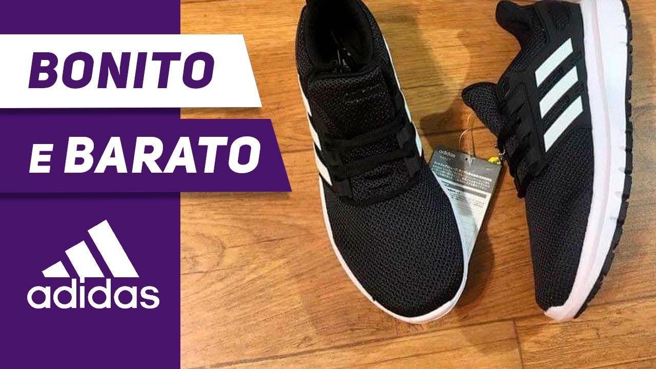 edcc5ff74 Tênis Adidas Preto - Adidas Energy Cloud 2 - Para Caminhada Corrida e  Academia