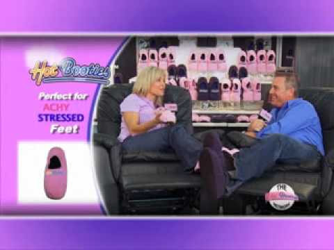 0ff26dc6f0fd Hot Booties™ Microwaveable Slippers Official Site - YouTube