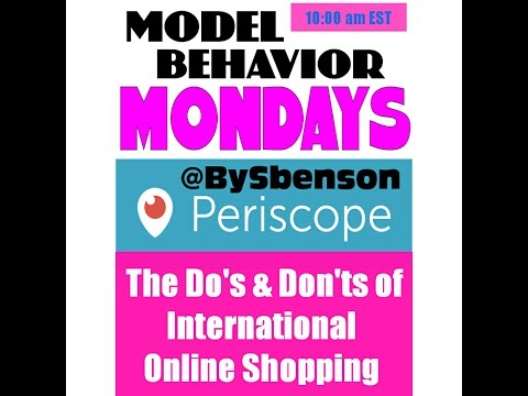 Model BeHavior Mondays episode 5 - Asian people aren't Fat...