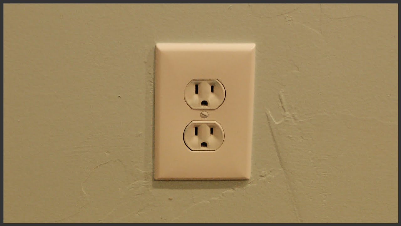 Wall Socket Plate Covers Enchanting Outlet Cover Plate Installation  Youtube Decorating Design