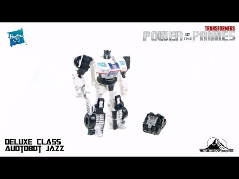 Optibotimus Reviews: Transformers Power of the Prime Deluxe Class AUTOBOT JAZZ