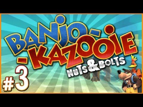 Banjo-Kazooie: Nuts & Bolts - SECRET VEHICLE?! | PART 3