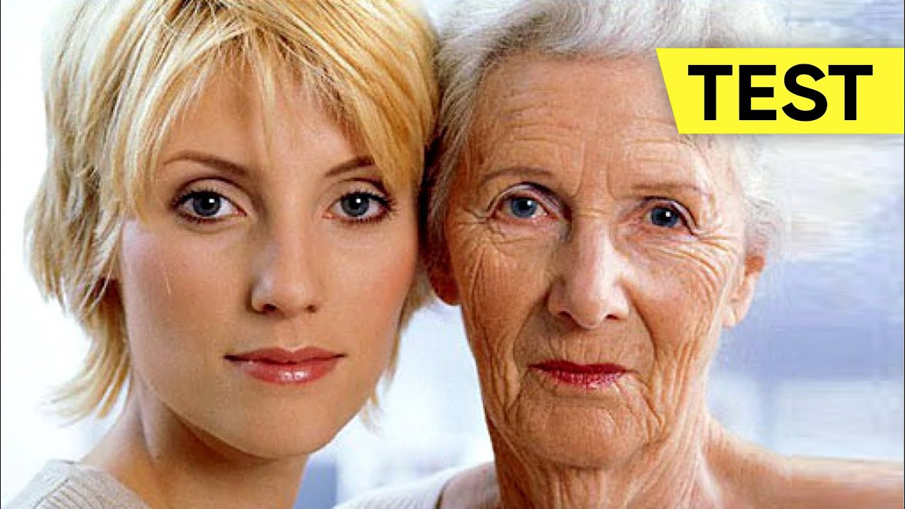 TEST the Age of Your Body. How old are you really? Fitness Age Test