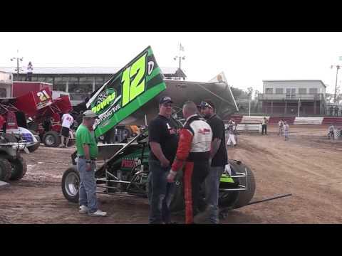 Selinsgrove Speedway 358/360 Sprint Challenge Race Highlights 5-11-13
