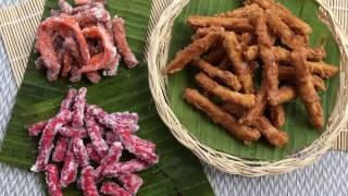 মুরালি / খুরমা / আঙ্গুলী ( চিনি ও গুড়ের) || Khurma / Murali Recipe Bangla || How To Make Khurma