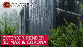 3ds Max Corona Exterior Scene Download