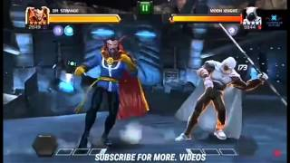 Marvel Contest of Champions Act 4 Chapter 2 Part 4 Boss Moon Knight
