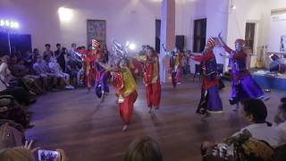 Bhangara dance by DOON UNIVERSITY by Somya Sundriyal