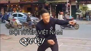 Quang Hải, Văn Hậu, Đức Chinh, Bùi Tiến Dũng... QUẨY tung vỉa hè Hà Nội