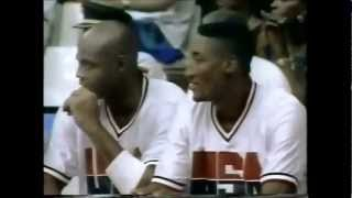 1992 Dream Team V Angola (Group A Game 1)