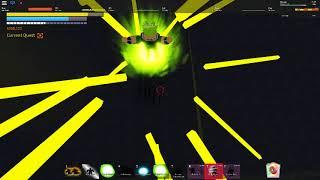 Roblox [Dragon ball final stand] Solo broly using prestige 2 saiyan level 700