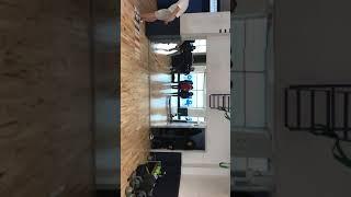 소방 공무원 제자리 멀리뛰기 298cm