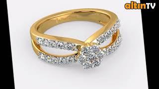 2018 MODEL 22 AYAR YENİ BAYAN YÜZÜK MODELERİ,Gold Ring New Latest Designs Of Gold Rings For Womens