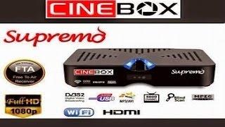 Como fazer recovery Cinebox Supremo tambem fazer o cabo rs232 para cinebox passo a passo 20/04/2015