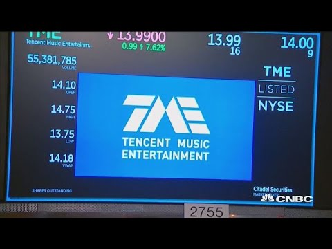 Tencent Music debuts IPO on NYSE Mp3