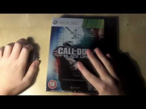 Call Of Duty Black OPS Hardened Edition Unboxing