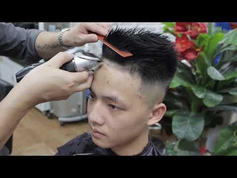 Cắt tóc nam undercut đẹp [tutorialhaircut]