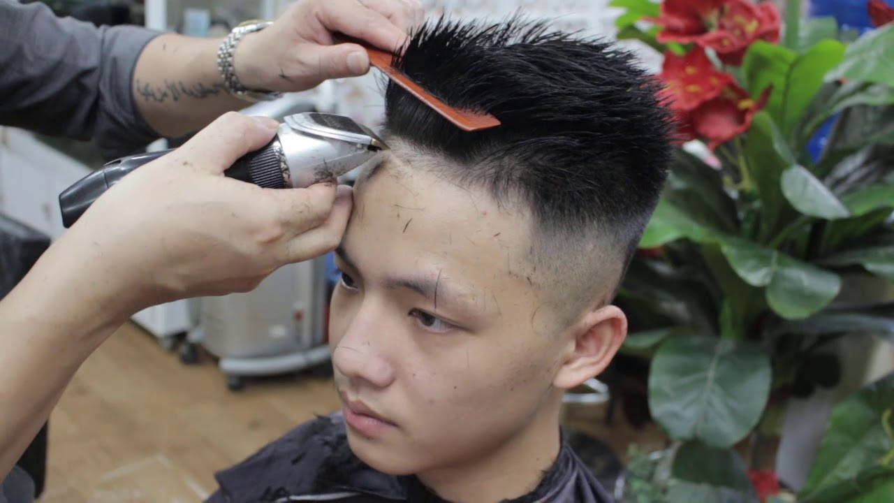 Cắt tóc nam undercut đẹp [tutorialhaircut] | Những kiểu tóc nam dẫn đầu xu hướng