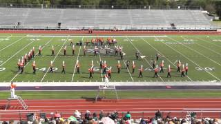 Orangefield High School Band 2015 - UIL Region 10 Marching Contest
