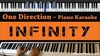 One Direction - Infinity - Piano Karaoke / Sing Along / Cover with Lyrics
