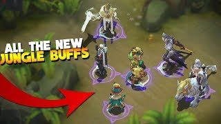 Jungle Buff Reworked Review (All Buffs) Mobile Legends Update