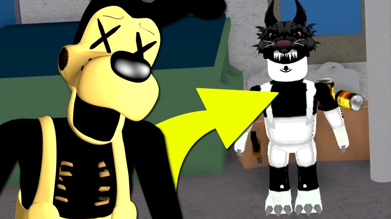 Bendy Shirt Roblox Playing As Boris In Roblox Bendy And The Ink Machine Youtube