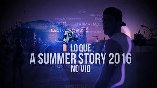 Video Lo que A Summer Story 2016 no vio download MP3, 3GP, MP4, WEBM, AVI, FLV September 2017