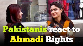 Should Ahmadis have equal rights ? Pakistanis React