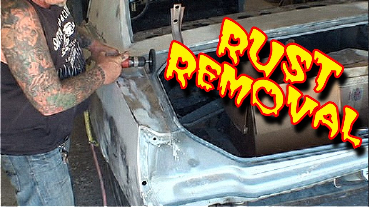how to remove rust and old paint from your car or truck youtube. Black Bedroom Furniture Sets. Home Design Ideas