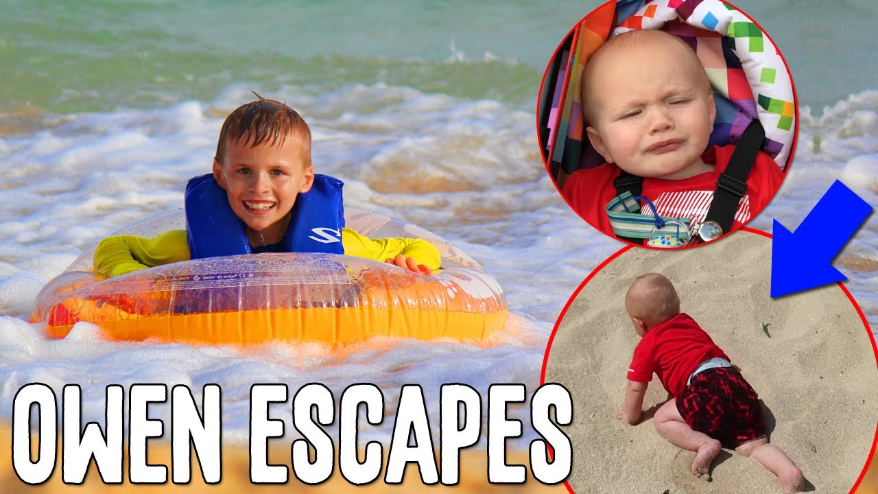 Owen Escapes at the Beach! || Mommy Monday