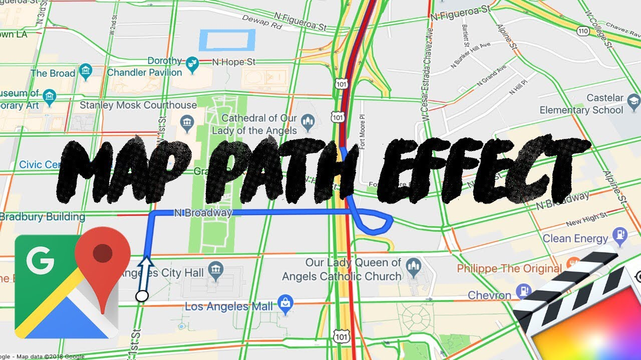 Epic Map Path Effect || Animate Map Path || Final Cut Pro X
