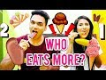 ICE CREAM CHALLENGE | FOOD EATING COMPETITION | FOOD CHALLENGE | BOY vs GIRL EATING CHALLENGE 2018