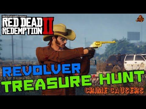 RED DEAD REDEMPTION 2 REVOLVER TREASURE HUNT feat. JokeSter18 | GTA V Crime Causers Episode #34