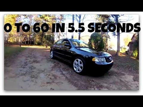 2001 Audi S4 Twin Turbo 0 To 60 5 Seconds Rev Ore