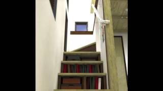 The Mcg Tiny House With Staircase Loft