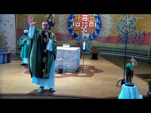 Santa Missa Dominical - 17° Domingo do Tempo Comum - 25/07/2021