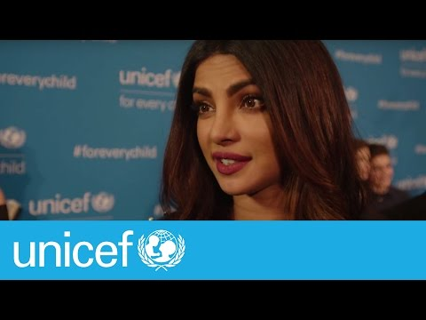 Priyanka Chopra on being appointed a Goodwill Ambassador | UNICEF