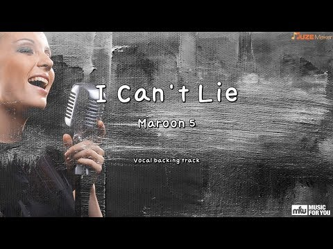 I Can't Lie - Maroon 5 (Instrumental & Lyrics)