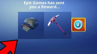 New FREE Save the World Pickaxe + Glider Now in Fortnite...