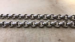 Сделай серебряную цепочку Шопард за 8 минут.Make a silver Chopard chain in 8 minutes.